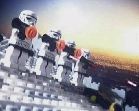 Lego in the brick film The Star Destroyer Potjomkin / The Star Destroyer Potemkin (2005)